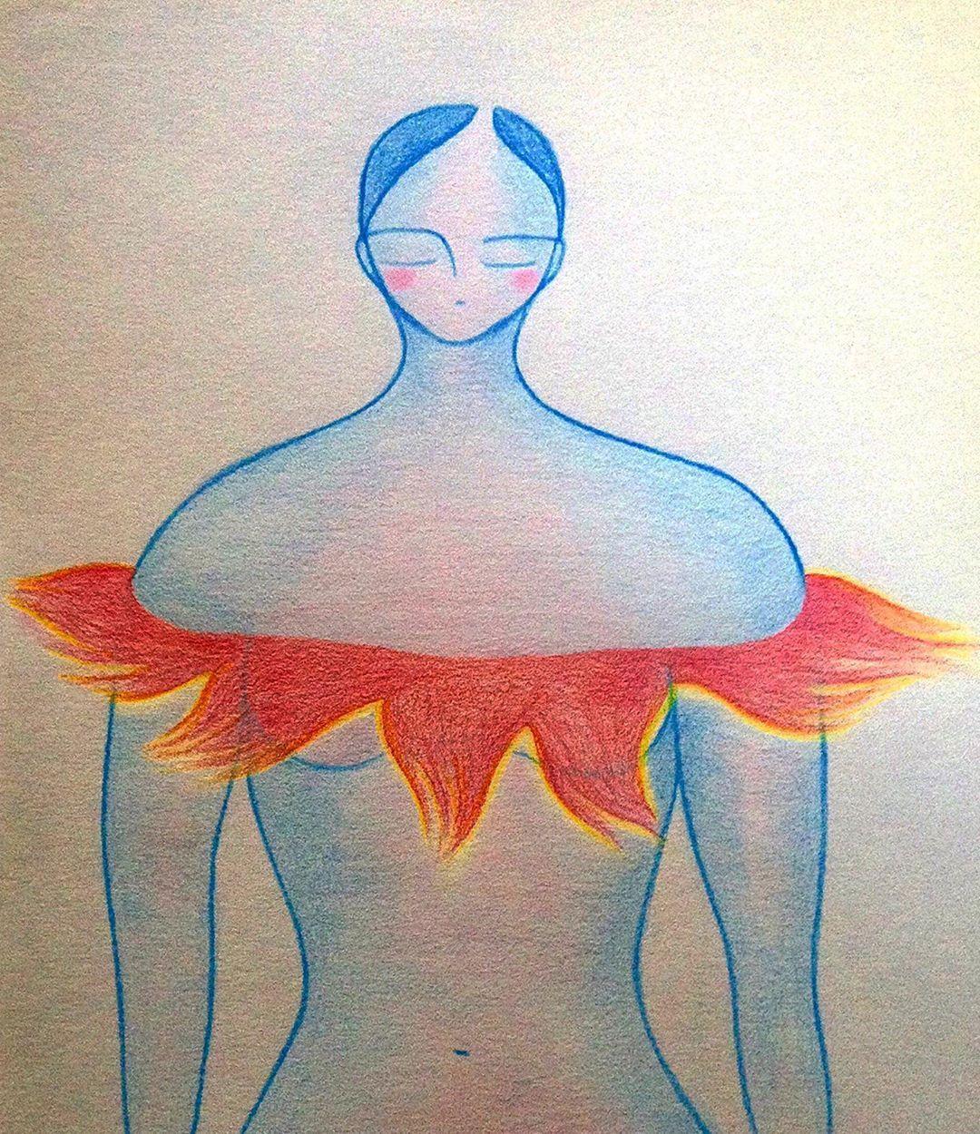 Free drawing. ~ #zeichnenwieatmen #drawingasbreathing #dibujarcomorespirar #kunst #art #arte #zeichnungen #drawings #dibujos #schaffen #create #crear #magischezeichnung #magicdrawing #dibujomagico #magie #magic #magia #genuss #joy #goce #lieben #love #amor #frei #free #libre #danke #thanks #gracias
