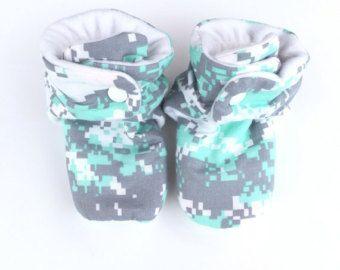 Camo Baby Minky Blanket Camouflage Baby by SweetpeaBebeByLouise