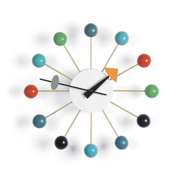 I Liked This Design On Fab Ball Clock Multi Disenos De Unas Reloj Mural George Nelson