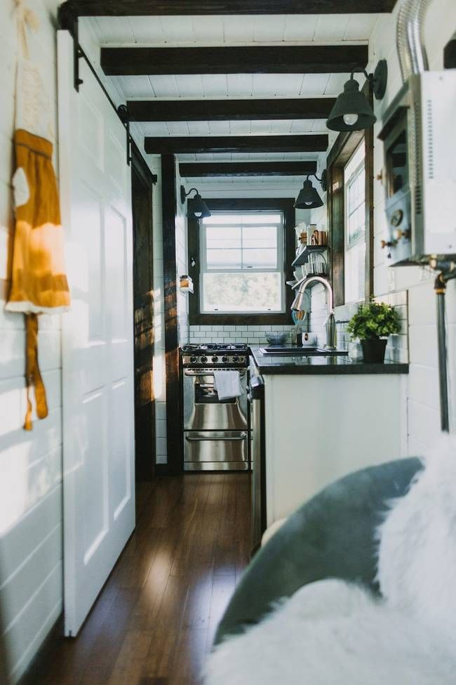 tiny home builder heirloom homes proves that luxury comes in all sizes this tiny house on wheels has granite countertops stainless steel appliances - Smallest House In The World 2015