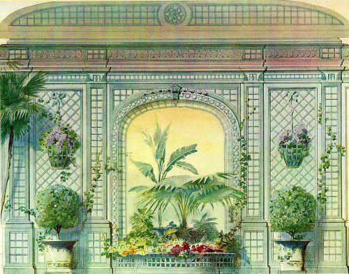 Georges Rémon - Décorateur - Planches Couleur - Décoration Style Louis XVI - Avant 1914