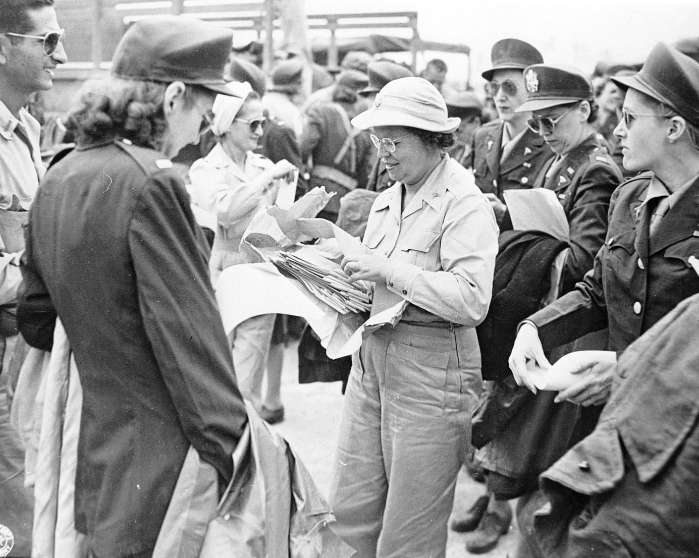 WW 2-Angels of Bataan-Captured Nurses Liberated from Japanese 1945 Photo