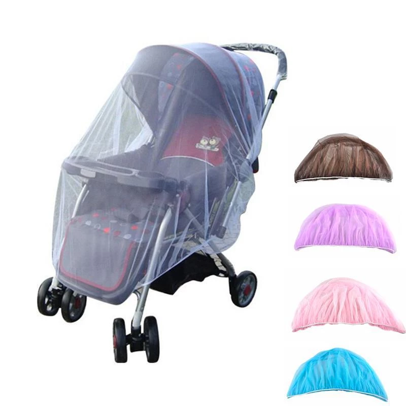 Our Baby Stroller Mosquito Net is the simplest way to keep