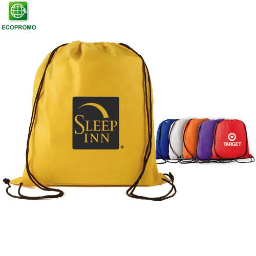 b827e250b4  drawstrings  logo  promoproducts  advertising Promotional Non-Woven  Drawstring Backpack