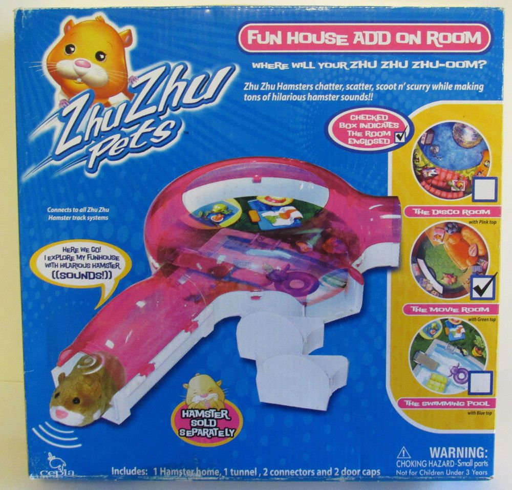 ZhuZhu Pets Fun house Add on Room The Swimming Pool OR
