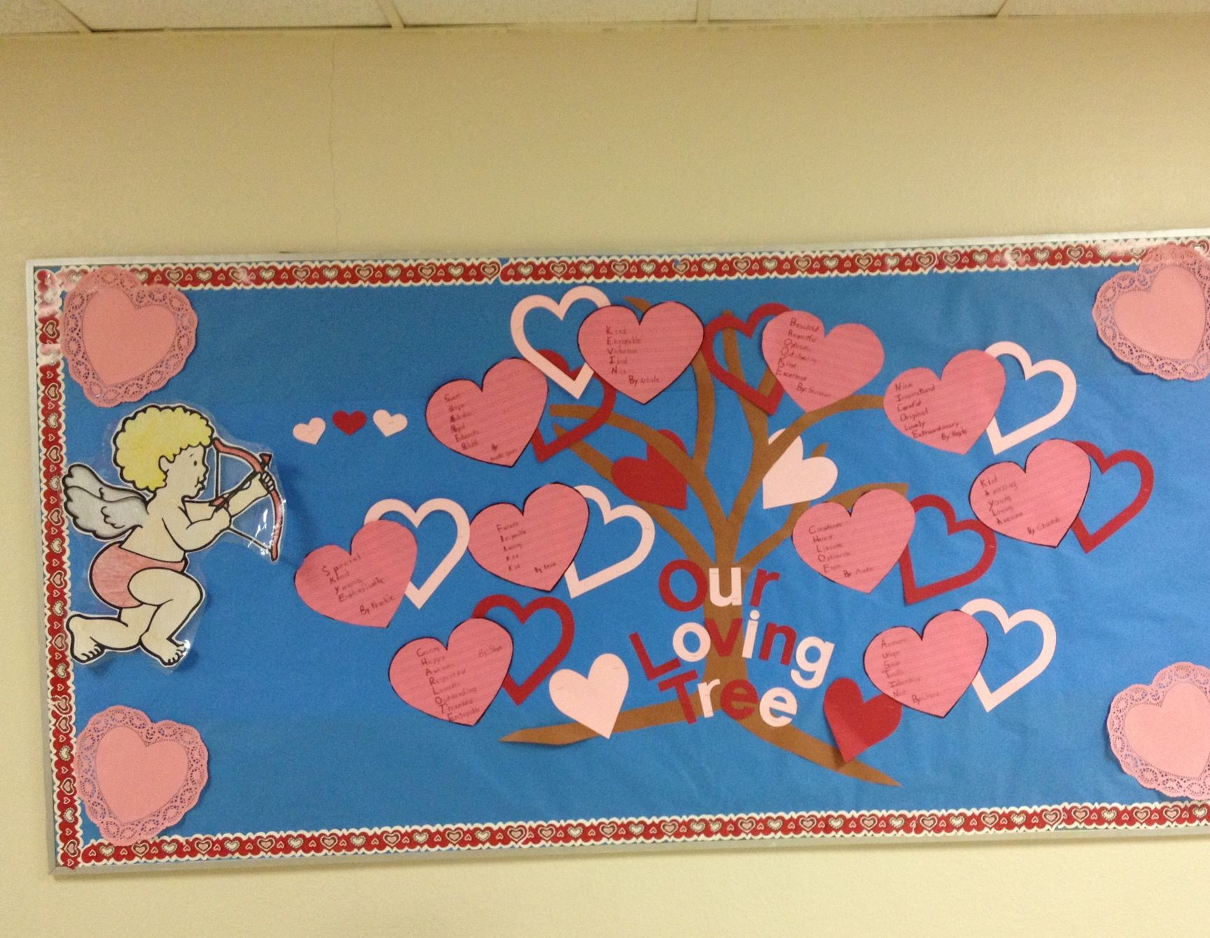 Acrostic Poem For Our February Bulletin Board With