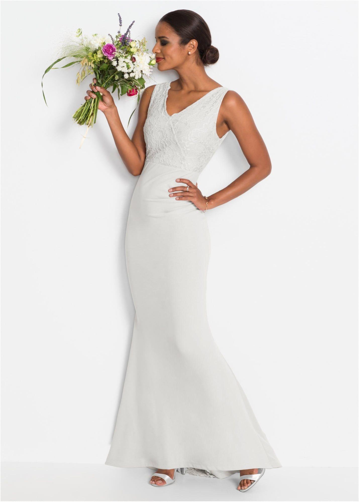 Bonprix Brautkleid Damen, Weiß, Größe 20/20  Brautkleid, Kleider