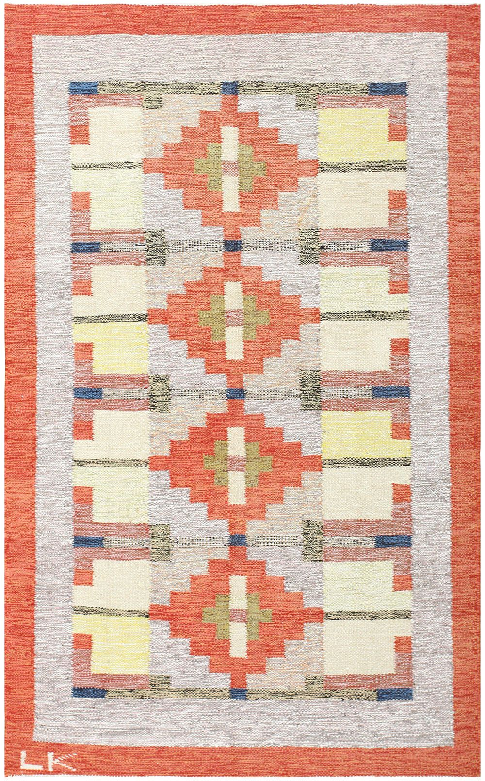 Scandinavian Vintage Swedish Kilim 48498 By Nazmiyal Rugs On Carpet Scandinavian Rug Rugs