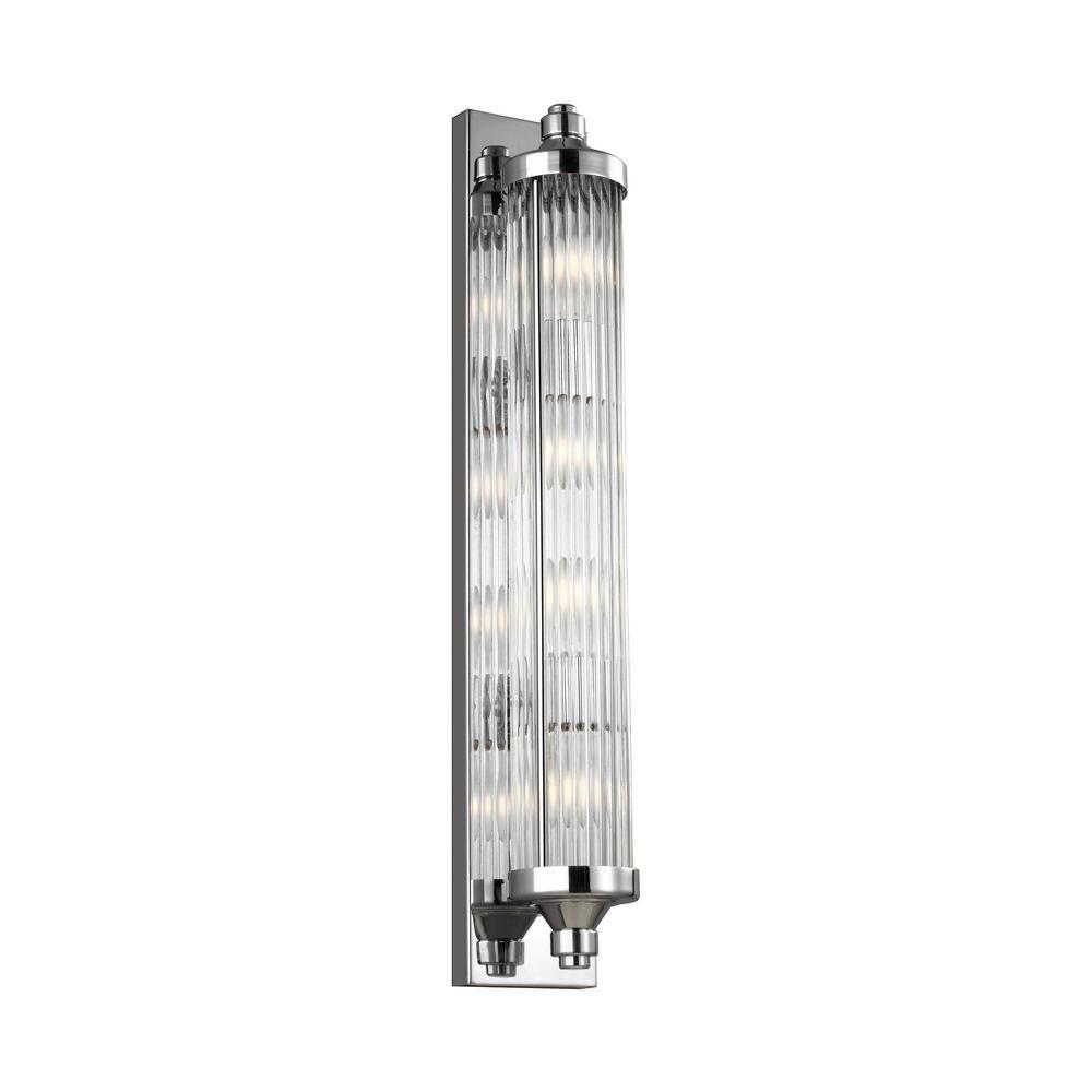 Feiss Paulson 4-Light Chrome Bath Light