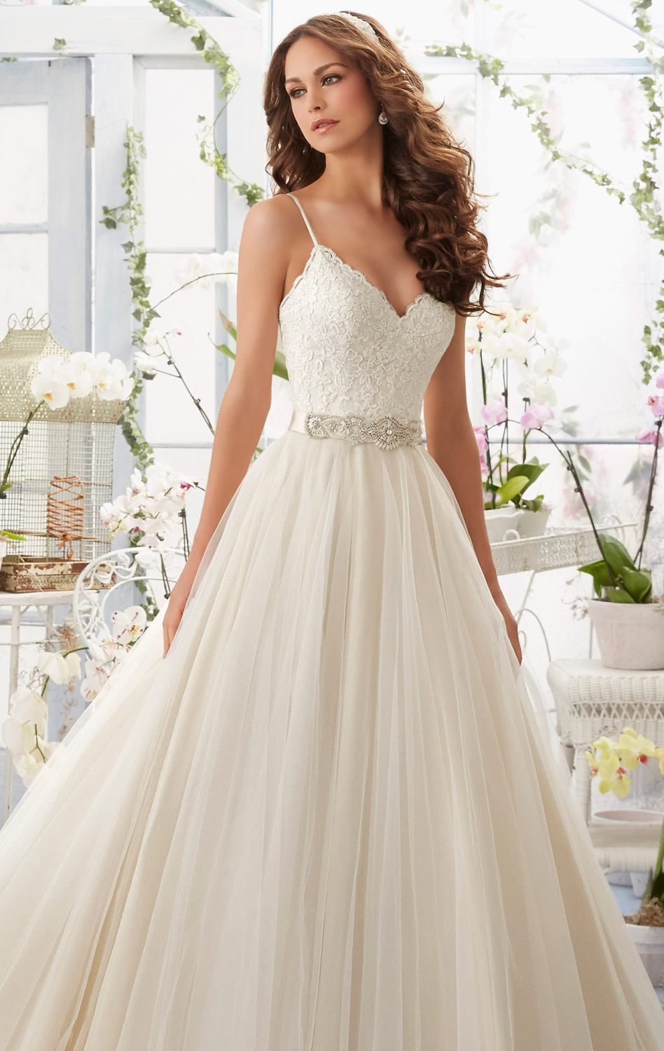 Be royalty for your long awaited day in blu by mori lee this
