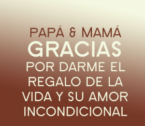Frases De Agradecimiento A Mis Padres Que Los Amo Food For Thought Life Thoughts