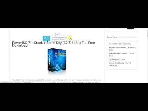 download poweriso 7.1 key