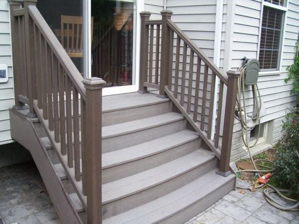Best Composite Deck Stairs Cost Patio Stairs Deck Stairs 400 x 300