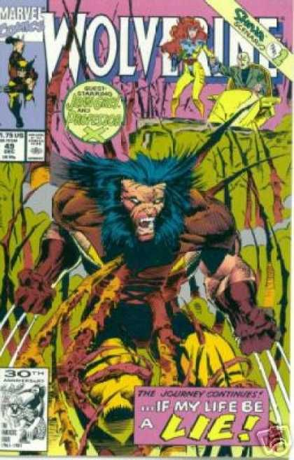 c4694f26319 Wolverine 49 - Marc Silvestri   Awesome Comic Book Covers   Marvel ...