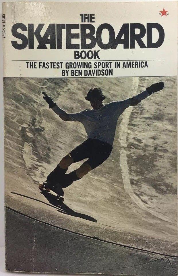 Vintage The Skateboard Book 1976 Paperback Ebay Paperbacks Books Paperback Books