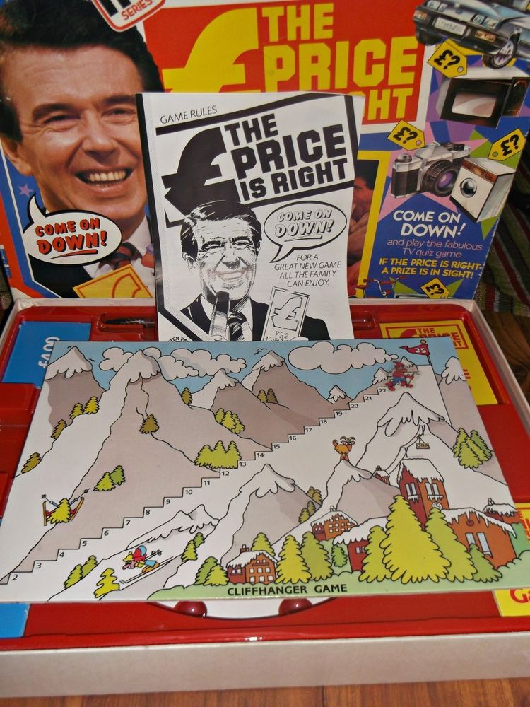 Vintage The Price Is Right Board Game (1982) Traditional