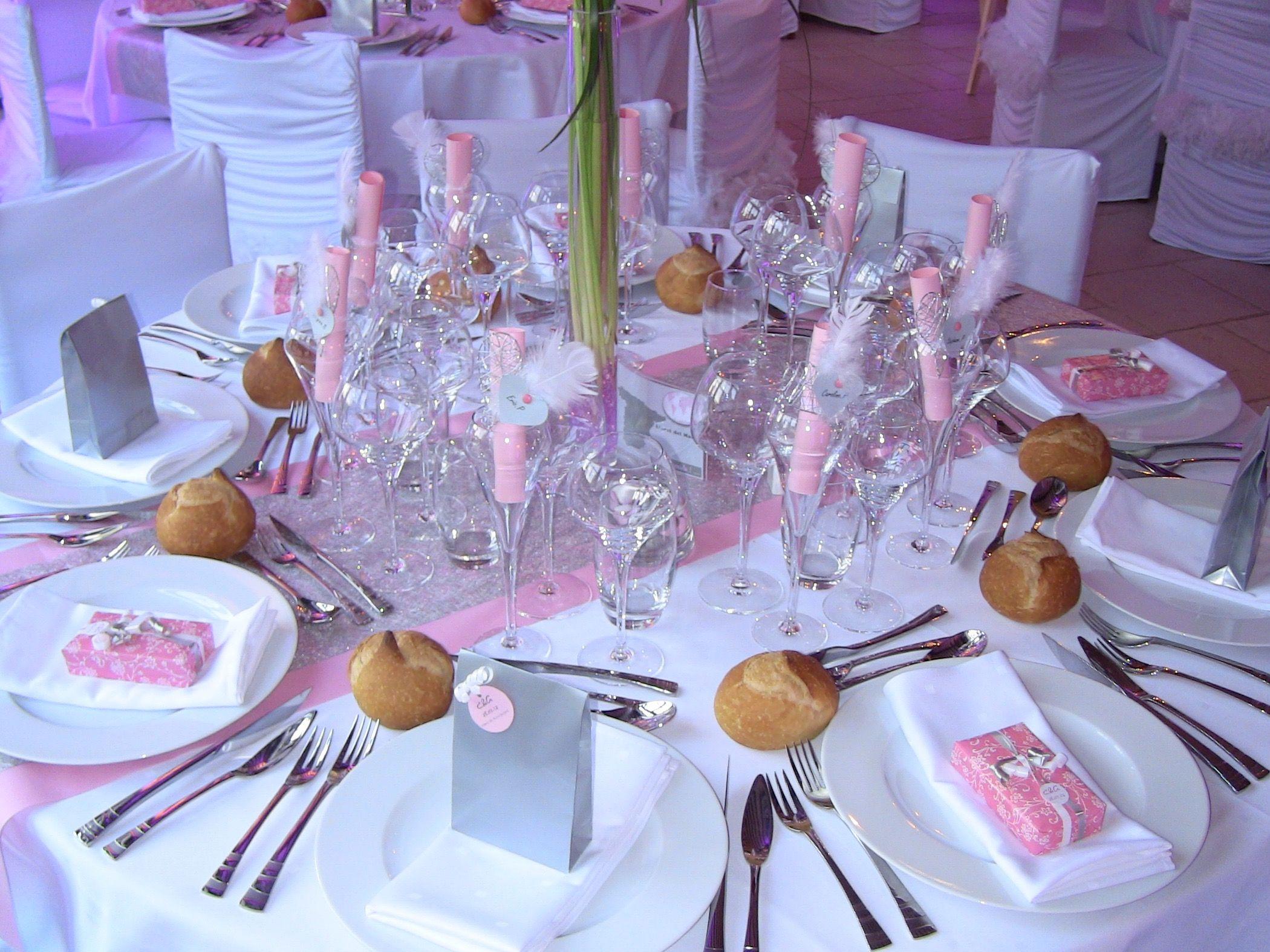 decoration table mariage rose et gris fashion designs. Black Bedroom Furniture Sets. Home Design Ideas