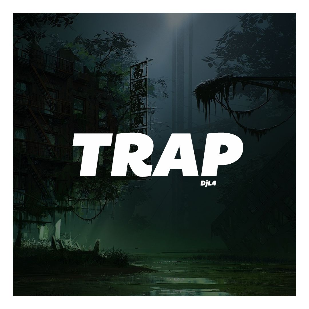 alternative album cover for dj4l trap arranged by frank javier