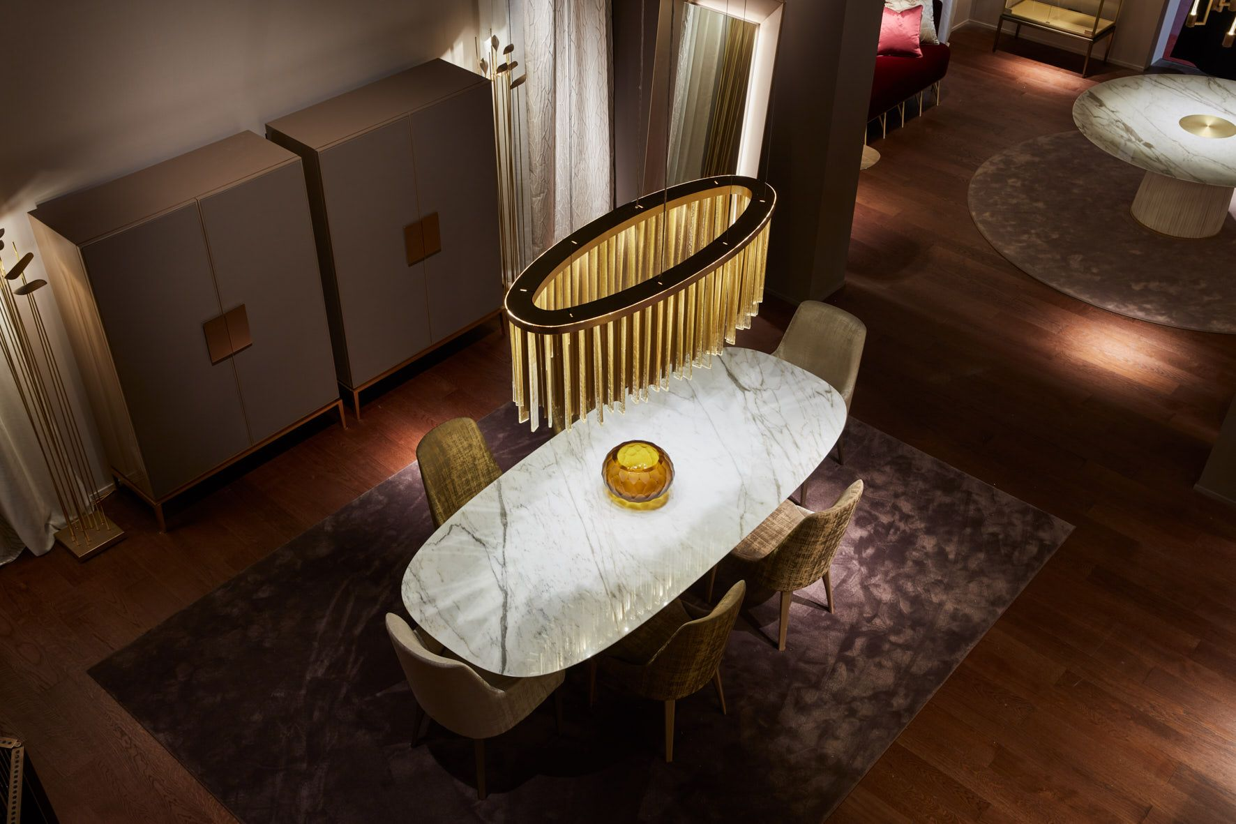 For hall table venus chandelier salone del mobile 2017 pinterest for hall table venus chandelier aloadofball Gallery