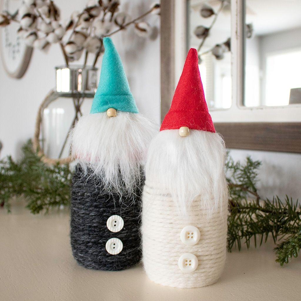 Gnome mason jar christmas mason jars inexpensive diy