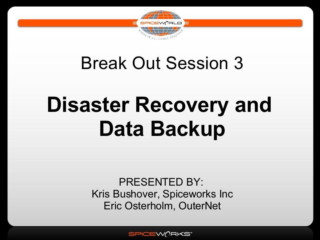 Disaster Recovery Data Backup Strategies Devops Backup Disaster