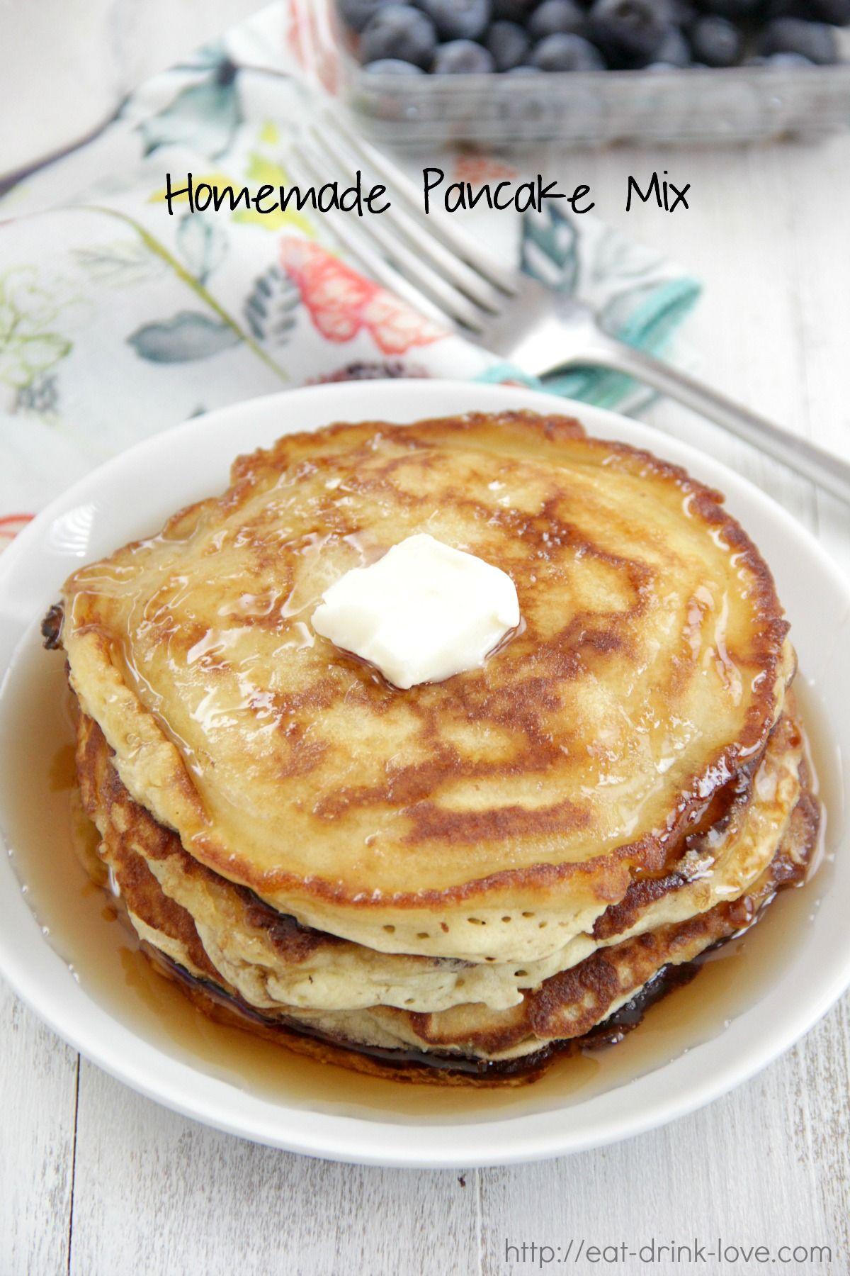 Homemade pancake mix homemade pancake mix homemade