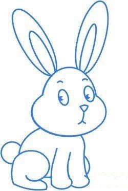 Zeichnen lernen für Anfänger - einen Hasen malen-dekoking ...