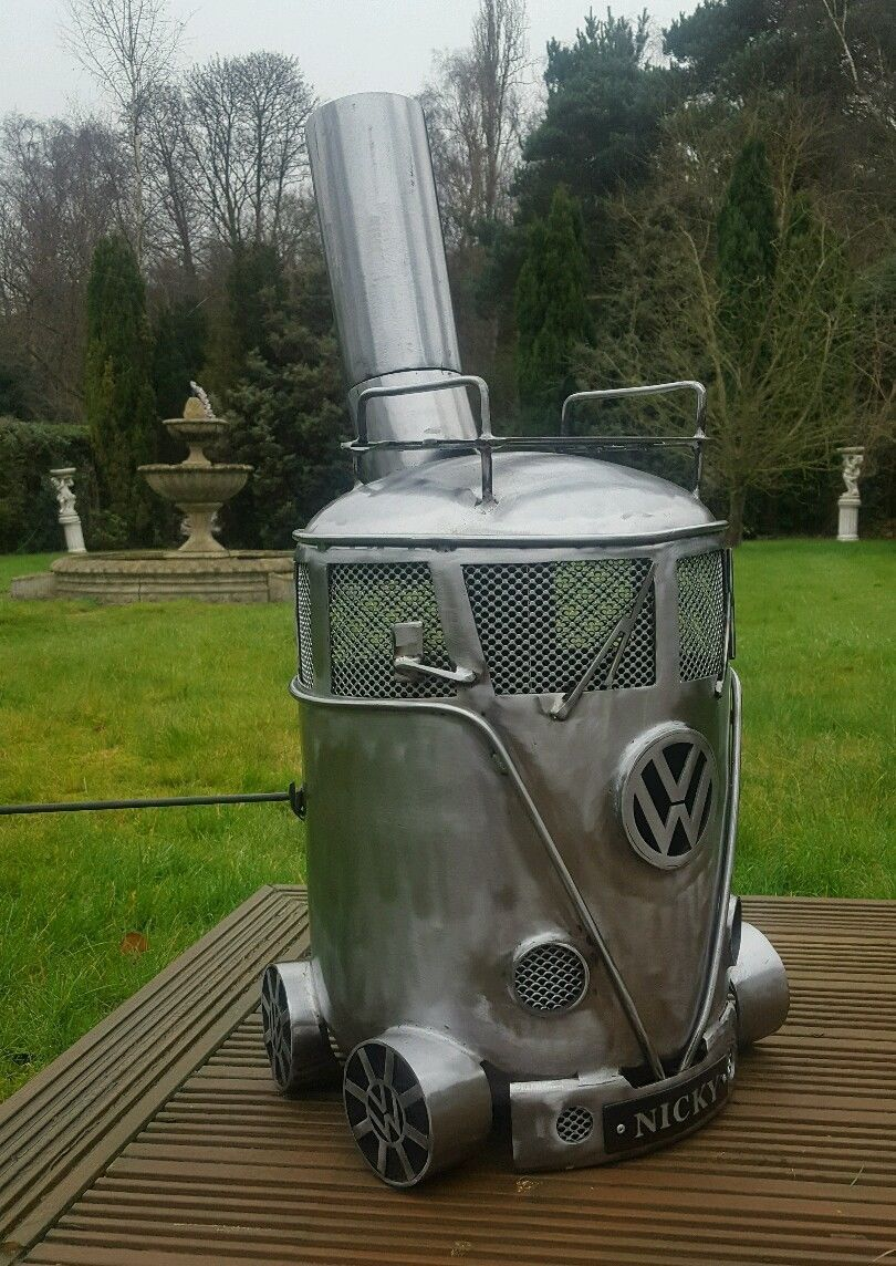 Feuerkorb Vw Bus Vw Gas Bottle Woodburner Stove Chimnea Patio Heater Log