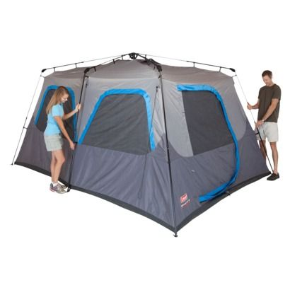 Coleman 10 Person Instant Cabin Tent 076501097504 Get To The Fun Faster With The Coleman 14 Ft X 10 Ft 10 Person Instan Cabin Tent Family Tent Camping Tent