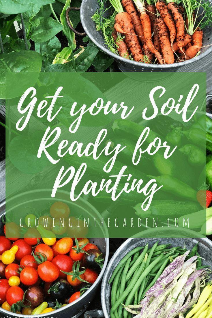 Get your soil ready for planting garden soil gardening