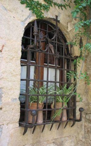 Spanish Style Wrought Iron Window Grills 9