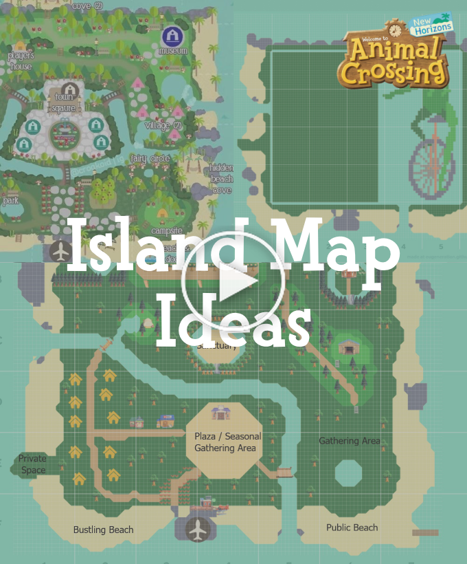Acnl Town Map :