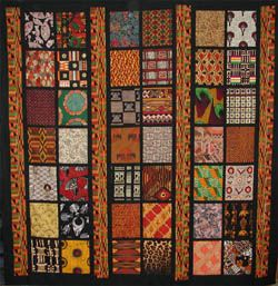 African Quilt Blocks So Sorry But I No Longer Have Name