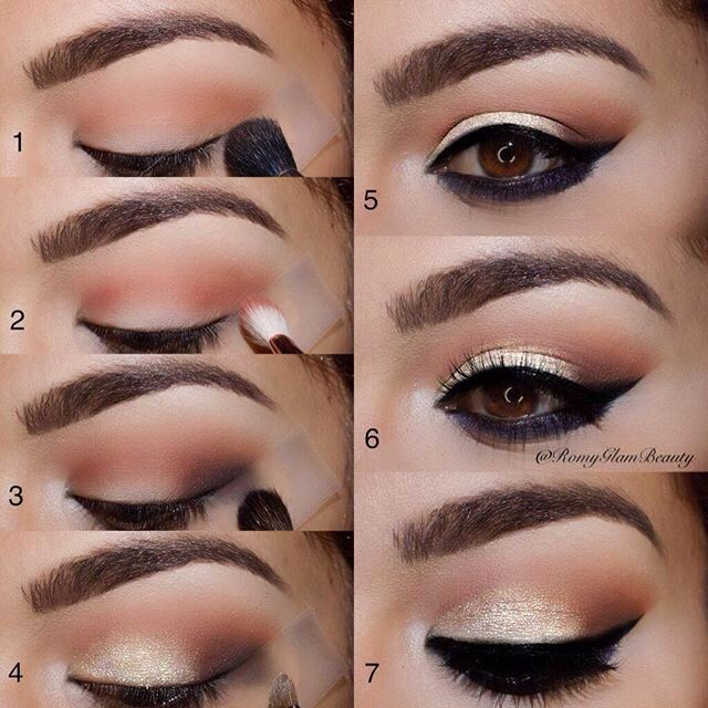 Natural eye makeup tutorials