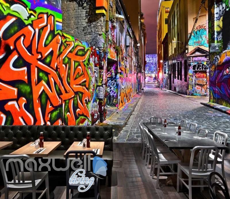 3d Wallpaper Graffiti Street Art Wall Murals Wallpaper Decals Prints Decor Idcwp Jb 000619 Graffiti Wallpaper Mural Art 3d Wallpaper