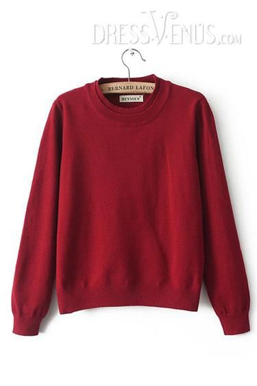 US$22.99 Charming New Arrival Spring Loose Knit Double-Deck Sweater. #Knitwear #Arrival #Double-Deck #Charming