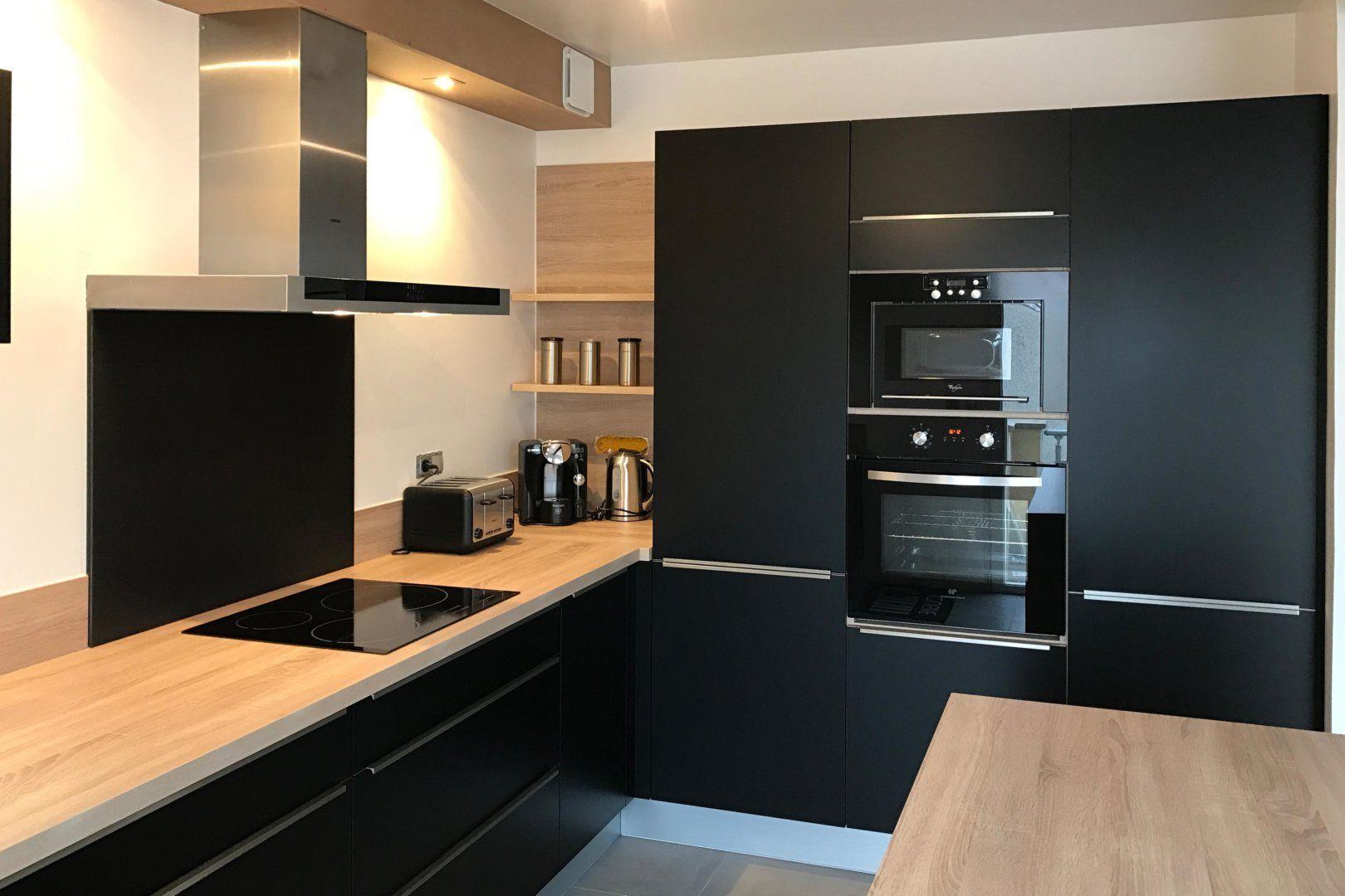 Kundenspezifische Kochstube Soft Black Virginia Kohlenstoff Realis