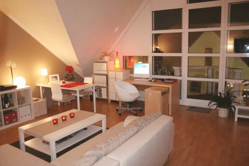 Wohnzimmer Und Arbeitszimmer In Einem Raum - rubengonzalez.club