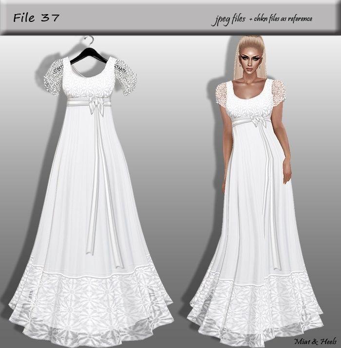 Sellfy Dress Imvu Textures Wedding