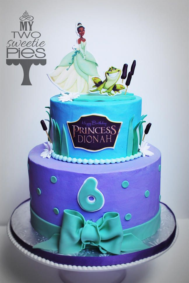 Princess Tiana Cake Idea Cake Pinterest Cake Frog Cakes And