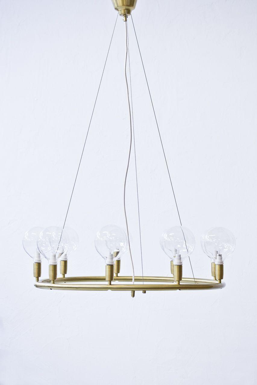 1950s chandelier by hans bergstrm via modernisten click on the 1950s chandelier by hans bergstrm via modernisten click on the image to see more aloadofball Images