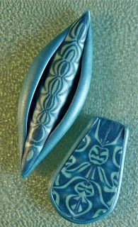 Knightwork: Playing with Clay: Polymer Clay Textured Cabochons & Day 4 Favorite tools