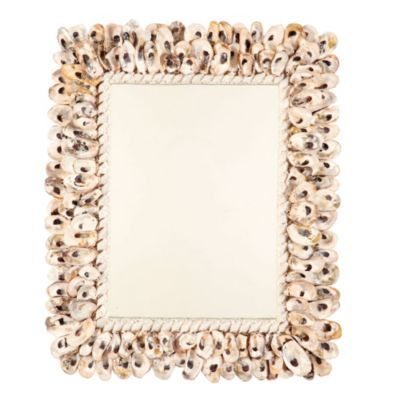 Perfect Oyster Shell Mirror   European Inspired Home Decor   Ballard Designs