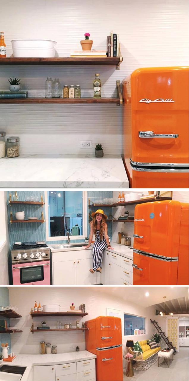 Featuring: The Big Chill Slim Refrigerator | Luxury Car