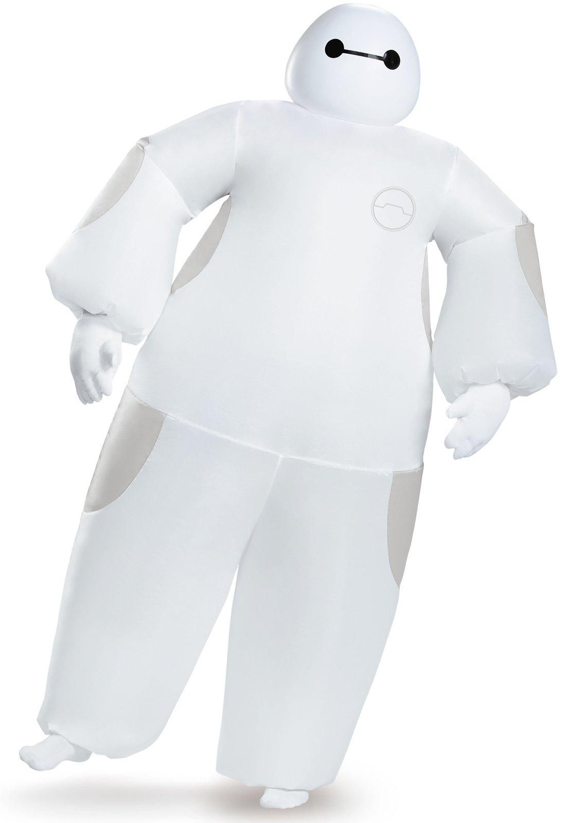 Baymax Costume Adult Inflatable Big Hero 6 Halloween Fancy Dress