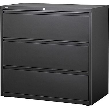 Staples Hl8000 Commercial 42 Wide 3 Drawer Lateral File Cabinet