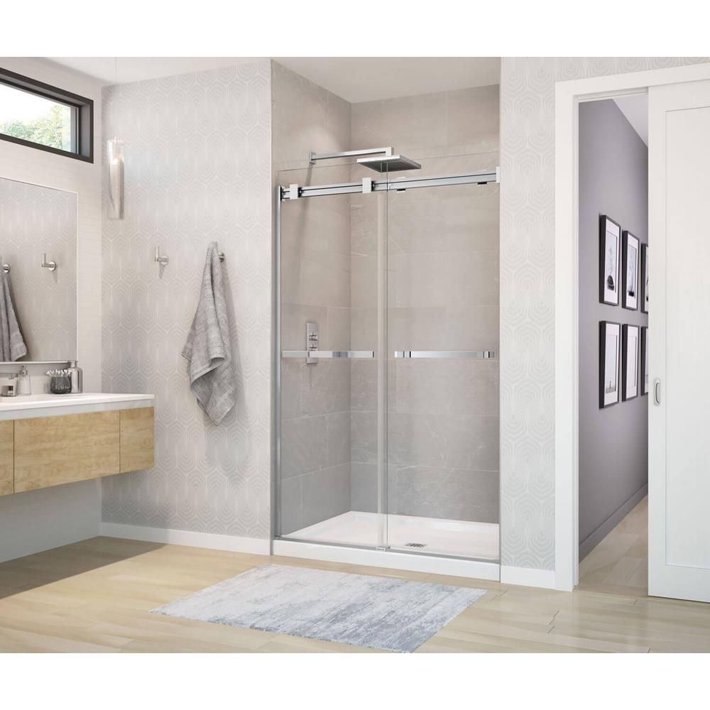 Maax B3 Base 48 In X 34 In Single Threshold Shower Base In White