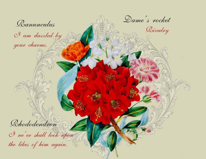 How Flower-Obsessed Victorians Encoded Messages In