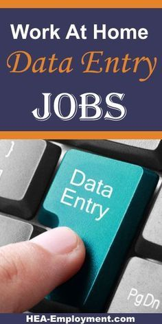 data entry workfromhome jobs are available at hea employment com