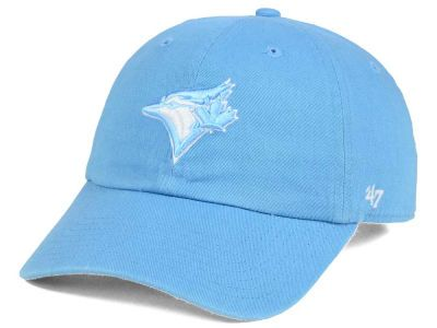 Toronto Blue Jays  47 MLB Powder Blue White  47 CLEAN UP Cap  3491c475ba46